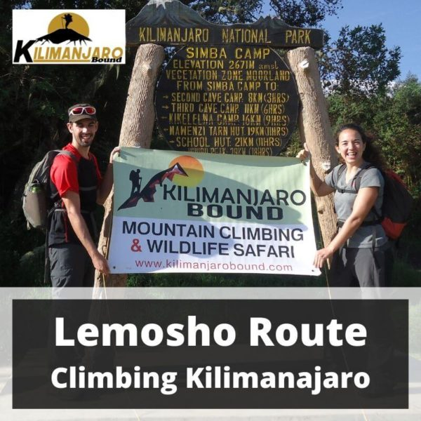 Lemosho Route Trekking Mount Kilimanjaro 31 August to 10 September 2020