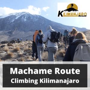 Machame Route Kilimanjaro Trekking 24 March to 1 April 2020
